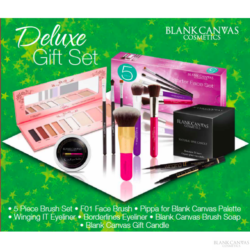 blank canvas deluxe gift set